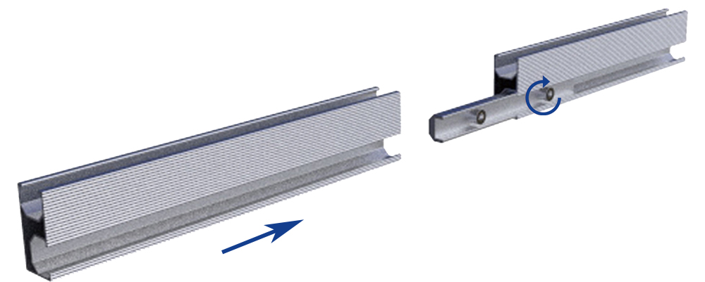 solar mount rail splice