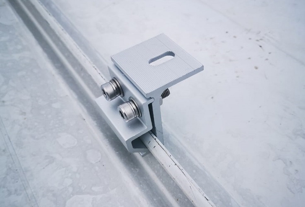 standing seam clamp solar